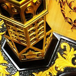 Close up of Venus Harp