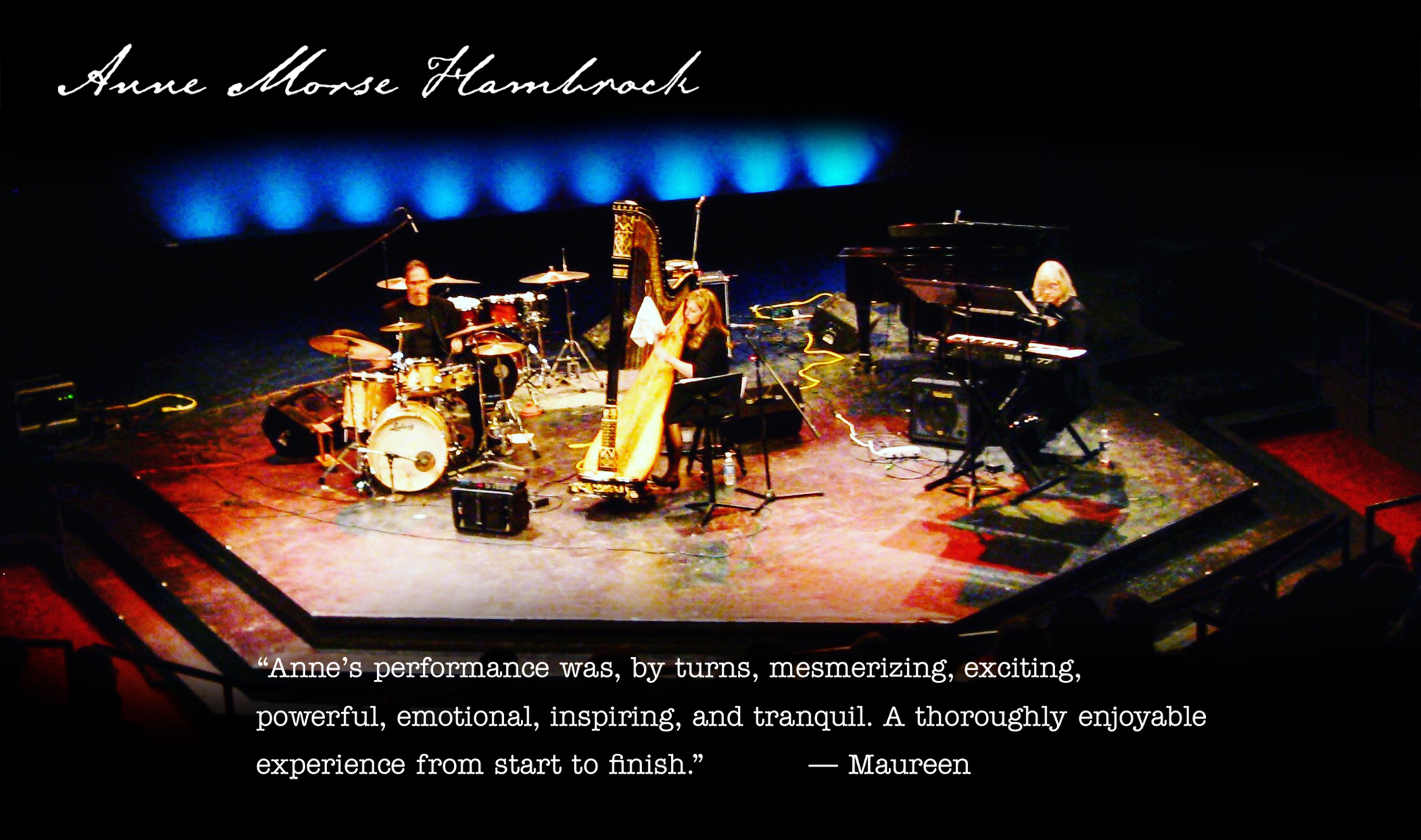Anne Morse-Hambrock Concerts Harp
